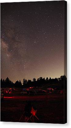 Julian Night Sky Milky Way Canvas Print