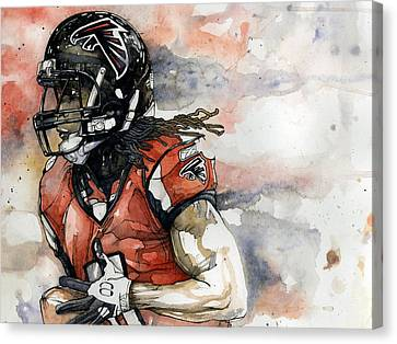 Julio Canvas Print by Michael  Pattison