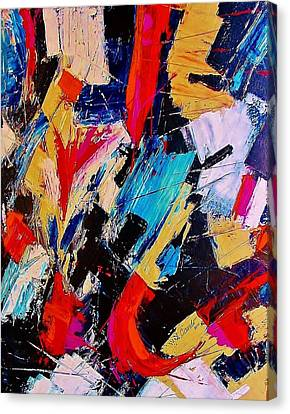 July 4 Canvas Print by Lou Cicardo