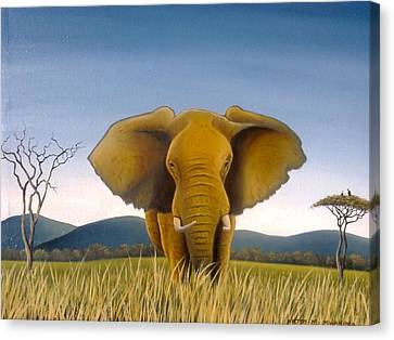 Jumbo Canvas Print by Hilton Mwakima