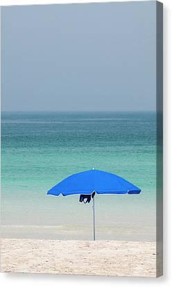 Jumeirah Beach, Dubai, United Arab Canvas Print by Michael Defreitas