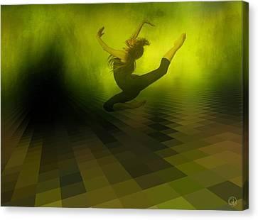 Jumping In Canvas Print by Gun Legler