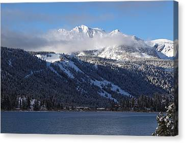 June Lake Winter Canvas Print