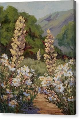 June Whites Canvas Print