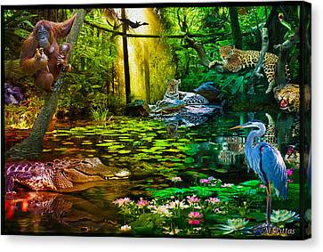 Jungle Dream 2 Canvas Print