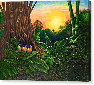 Jungle Harmony IIi Canvas Print