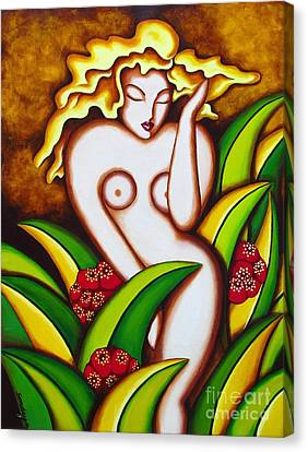 Jungle Nude Canvas Print