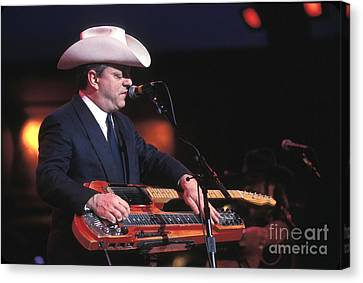 Junior Brown Canvas Print by Concert Photos