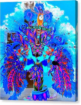 Junkanoo 3 Canvas Print