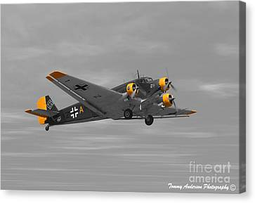 Junkers Ju 52 Canvas Print by Tommy Anderson