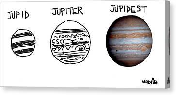 Jupid, Jupiter, Jupidest Canvas Print