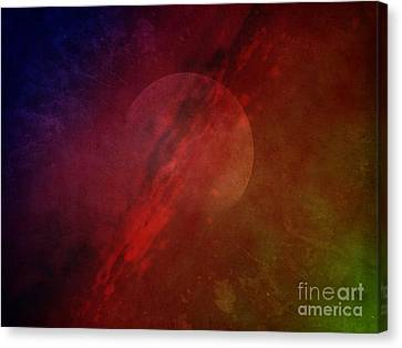 Jupiter Ascending Canvas Print by Edward Fielding