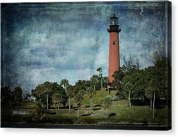 Jupiter Lighthouse-2a Canvas Print by Rudy Umans