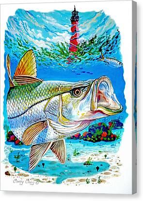 Jupiter Snook Canvas Print