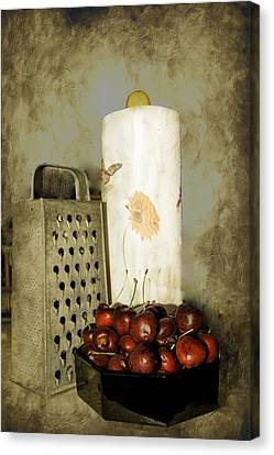Just A Bowl Of Cherries Canvas Print