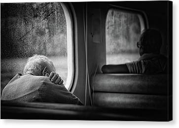 Elderly Canvas Print - Just A Little Bit Tired by Vito Guarino