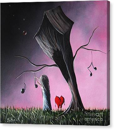 Just A Little Love Song By Shawna Erback Canvas Print by Shawna Erback