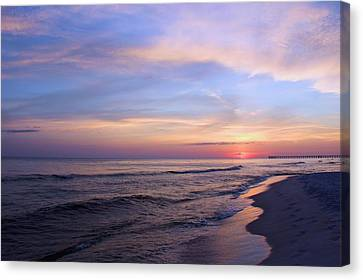 Just After Sunset Canvas Print by Elizabeth Budd