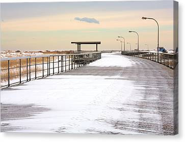 Just Another Boardwalk Canvas Print by JC Findley