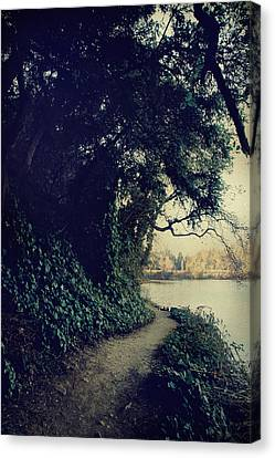 Just Around The Corner Canvas Print by Laurie Search