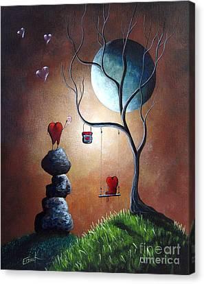 Just Because I Love You By Shawna Erback Canvas Print by Shawna Erback