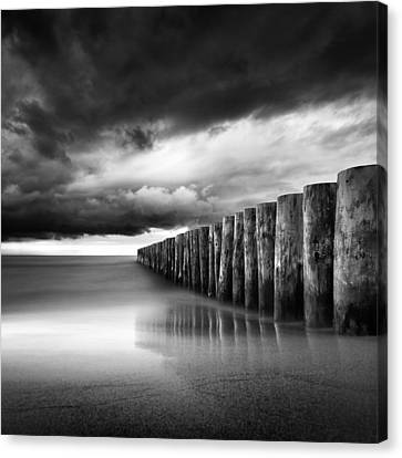 Just Before The Storm Canvas Print by Martin Flis