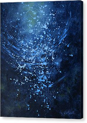 Just Beneath The Surface Canvas Print by Kim Sobat