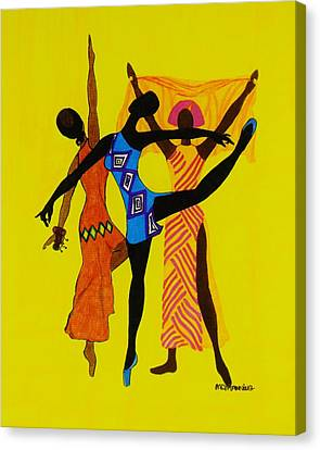 Just Dance Canvas Print