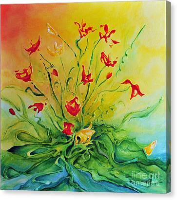 Just For You Canvas Print by Teresa Wegrzyn