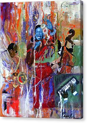 Just Jazzin Canvas Print