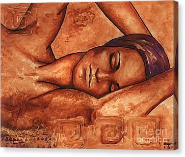 Just Lay Back And Relax And . . .  Canvas Print by Alga Washington