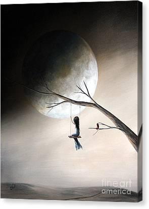 Just Like Heaven By Shawna Erback Canvas Print