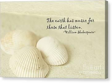 Just Listen Canvas Print