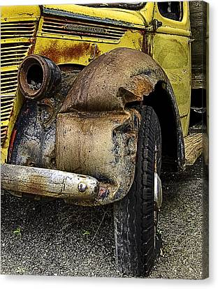 Canvas Print featuring the photograph Just One Accident by Gary Neiss