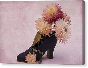 Canvas Print featuring the photograph Just One Shoe by Sandra Foster