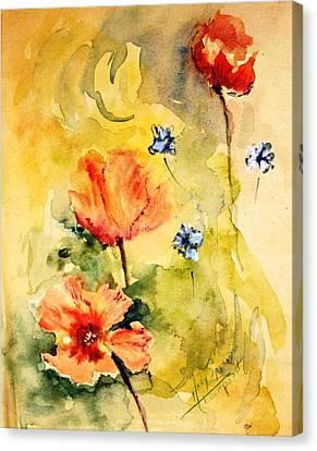 Just Play Canvas Print by Mary Spyridon Thompson