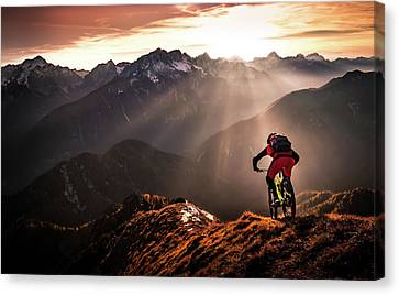 Just Ride ... Canvas Print