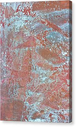 Just Rust Canvas Print by Heidi Smith