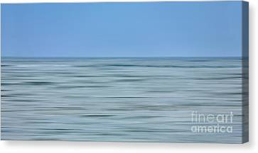 Just Sky Just Water - A Tranquil Moments Landscape Canvas Print by Dan Carmichael