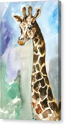 Just So Tall Canvas Print by Mary Armstrong