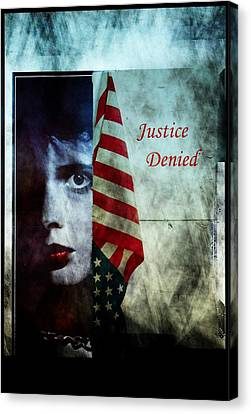 Justice Denied Canvas Print by Allen Beilschmidt