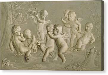 Juvenile Bacchanalia, 1783  Canvas Print