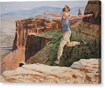 Jynn's Leap Canvas Print