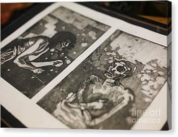 K Double-you A Canvas Print by J Ethan Hopper