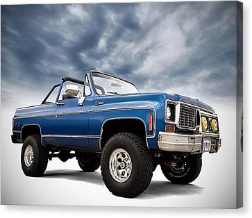 K5 Blazer Canvas Print by Douglas Pittman