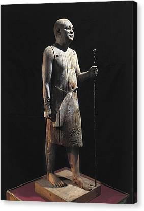 Ka-aper Lcalled Sheikh El-beled. Ca Canvas Print