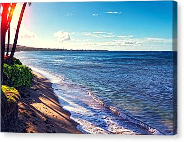 Kaanapali Beach Canvas Print