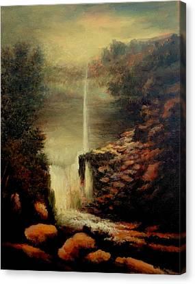 Kaaterskill Falls August Canvas Print