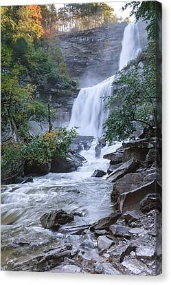 Kaaterskill Falls Canvas Print by Bill Wakeley