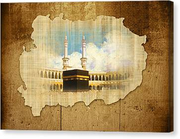 Kabah Canvas Print by Catf